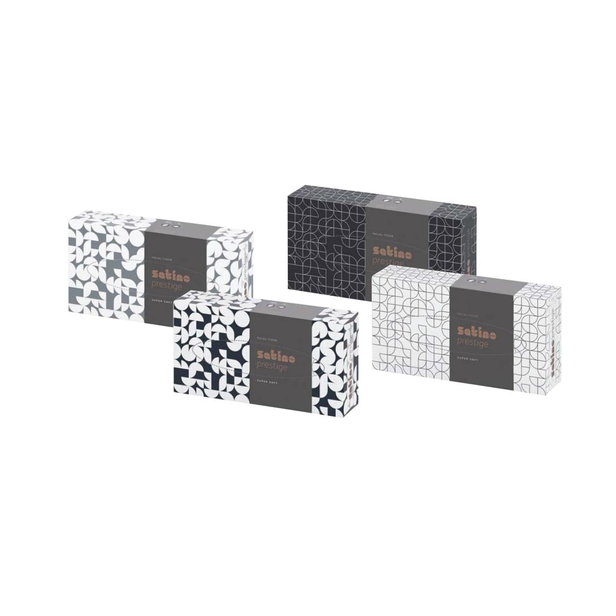 TTC Kozmetičke maramice u kutiji FLACHBOXEN, Satino Prestige, 100% celuloza, 2 sloja, 21×20.5cm. Pakovanje: 100 maramica