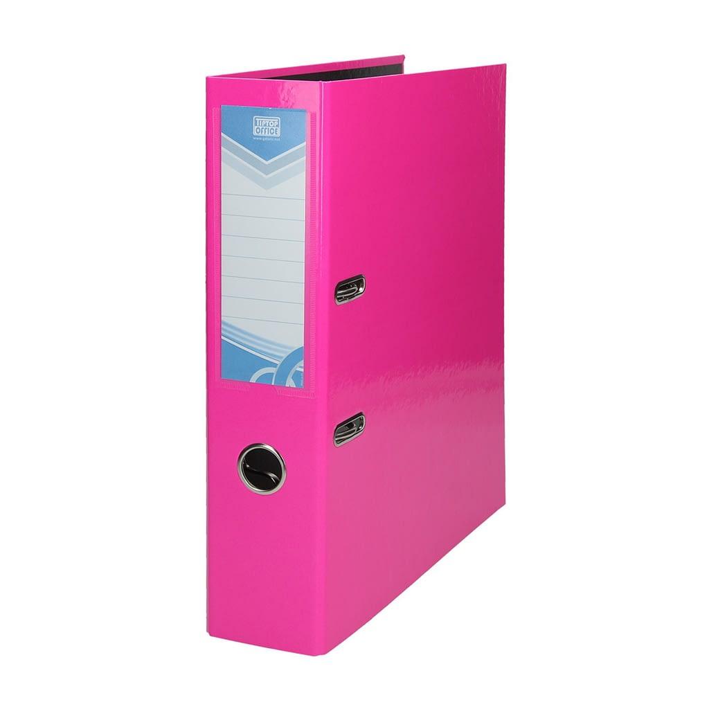 TTO Samostojeći registrator PREMIUM A4. Boja: neon roza