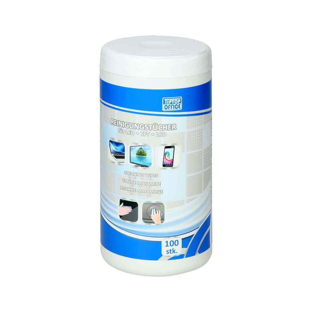 TTO Vlažne maramice za TFT/LCD monitore. Pakovanje: 100 komada