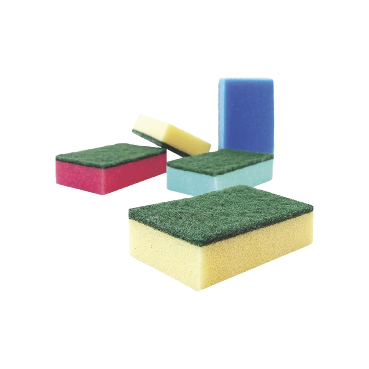 TTC Kuhinjski sunđer u boji, mali. Pakovanje: 10 komada