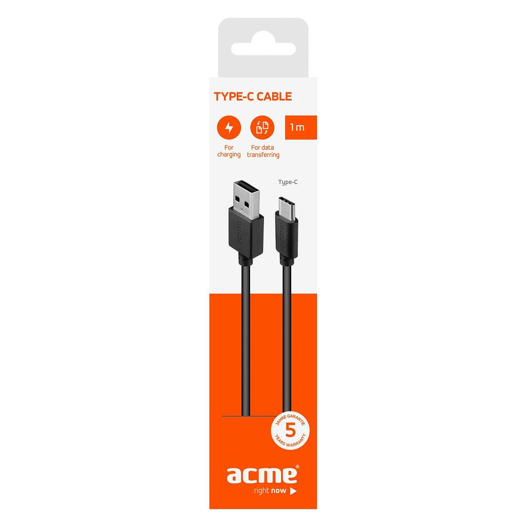 ACME Type C kabl CB1041, 1 metar. Boja: crna