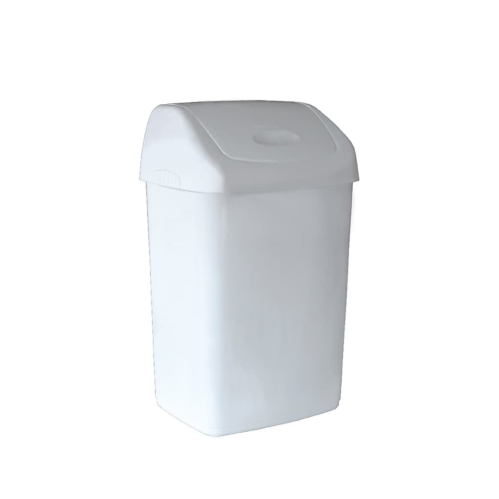 TTC Kanta za otpatke sa pokretnim poklopcem, bijela, 50L