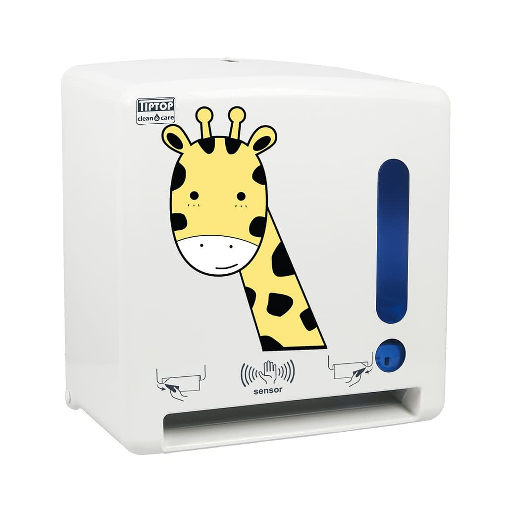 """TTC Senzorski uređaj za ubrus - beskontaktni. Print: """"Žirafa"""""""