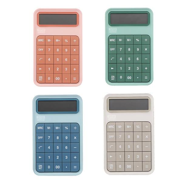 TTO Kalkulator DG-69TS, Dual power, 12 cifara, mix pastelnih boja