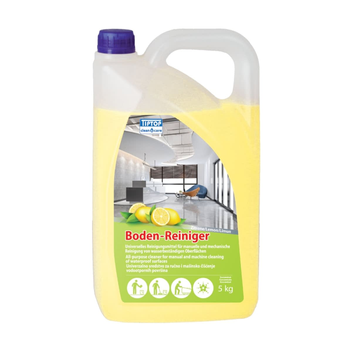 "TTC Sredstvo za čišćenje vodootpornih površina ""Limun"" Koncetrovano. 5L"