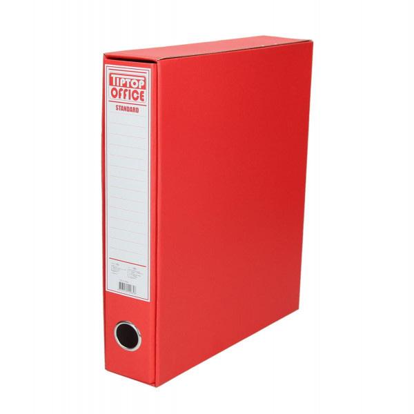 """TTO Registrator uski sa kutijom """"Standard"""" A4/55. Boja: crvena"""