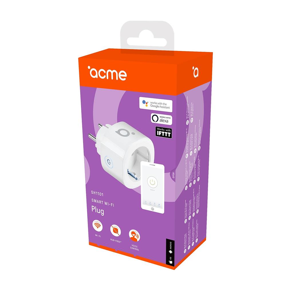 ACME Smart WI-FI utičnica SH1101. Boja: bijela