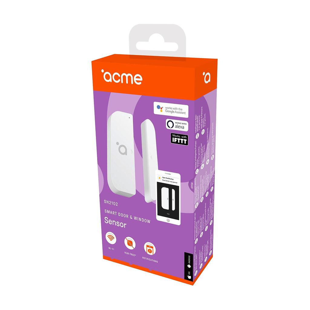 ACME Smart senzor za vrata i prozore SH2102. Boja: bijela
