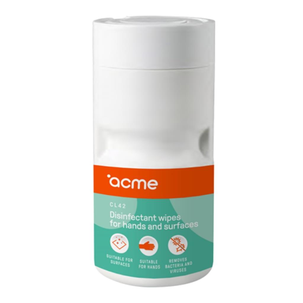 ACME CL42 Dezinfekcione maramice za čišćenje ruku i površina. Pakovanje: 100 komada