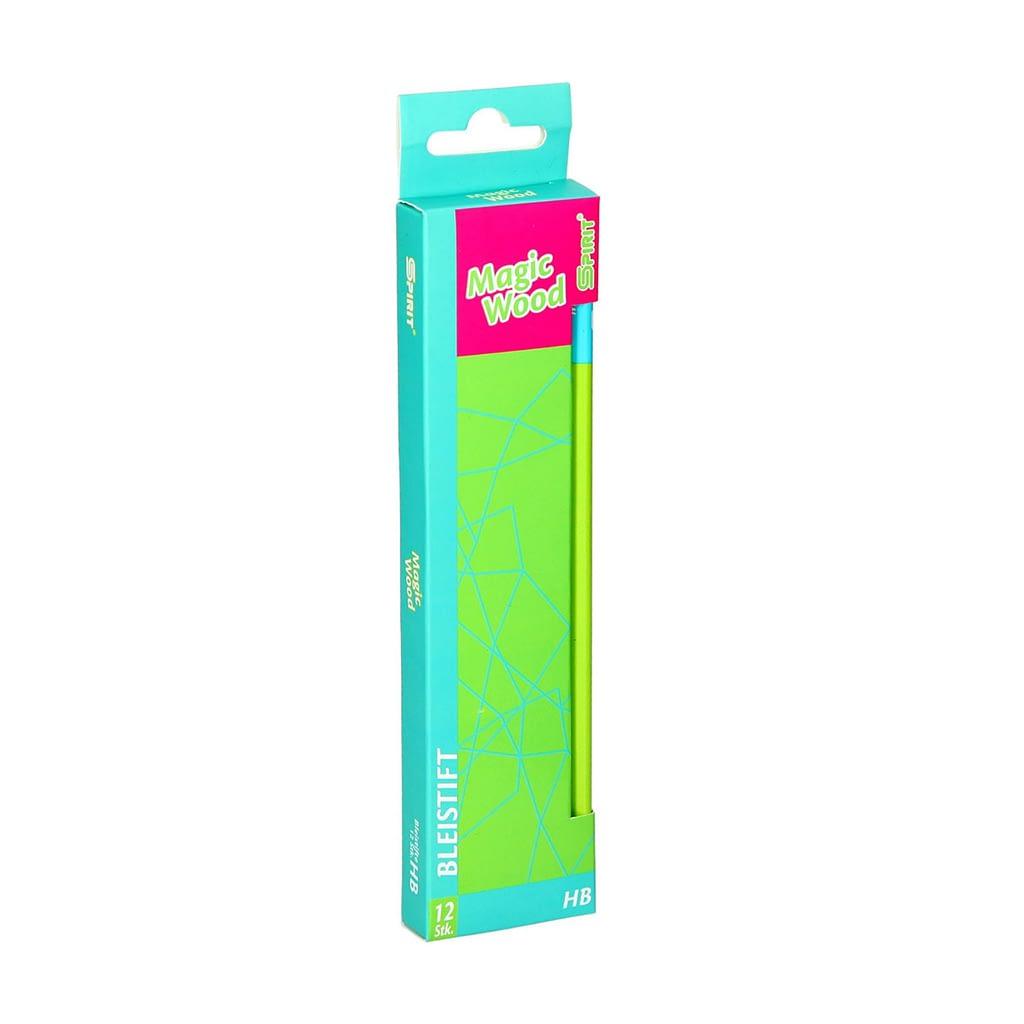 TTS Grafitna olovka ''Magic Wood'', HB. Boja: zelena. Premium kvalitet. Pakovanje: 12/1