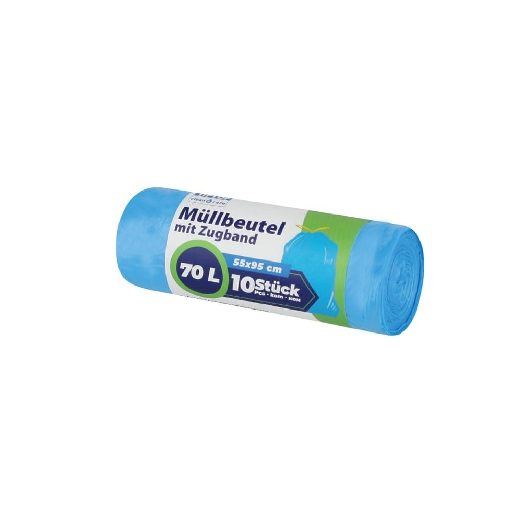 TTC Vrećice za smeće sa trakom za vezivanje, 70L, 55x95cm, EXTRA jake. Pakovanje: 10 komada