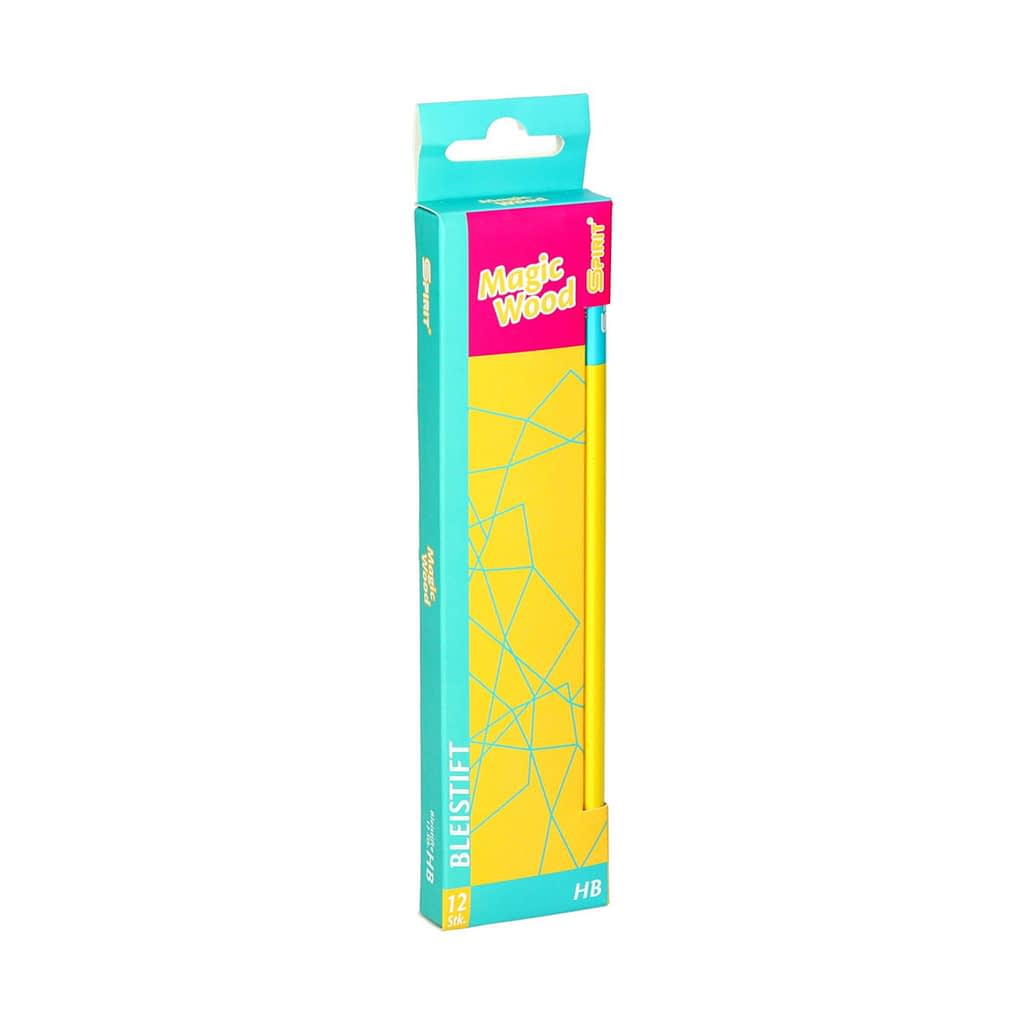 TTS Grafitna olovka ''Magic Wood'', HB. Boja: žuta. Premium kvalitet. Pakovanje: 12/1