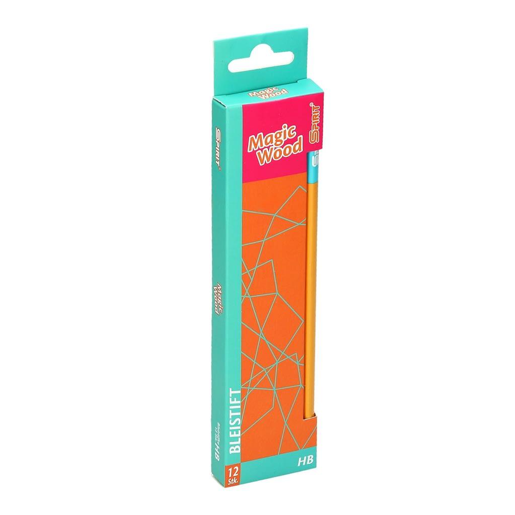 TTS Grafitna olovka ''Magic Wood'', HB. Boja: narandžasta. Premium kvalitet. Pakovanje: 12/1