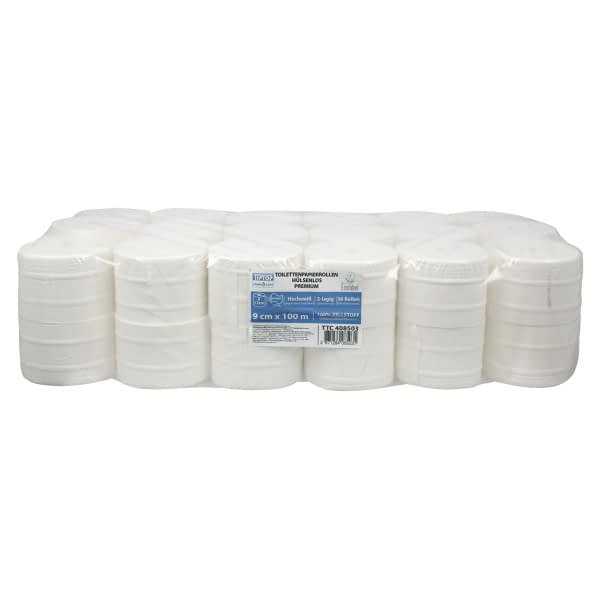 TTC Toaletni papir u rolni (za Harpoon uređaje), 100% celuloza, 36x100m. EU Ecolabel sertifikat