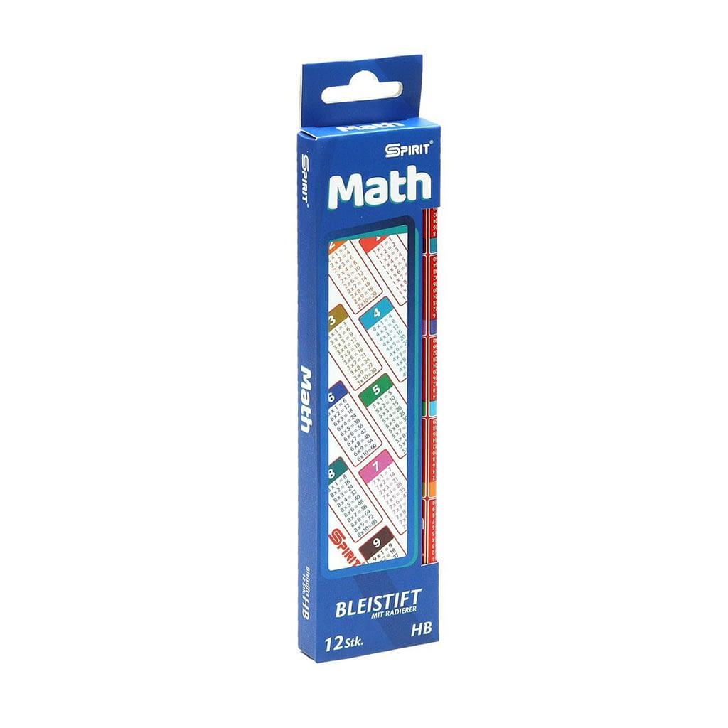 TTS Grafitna olovka Mathematic / sa tablicom množenja. Pakovanje: 12 komada
