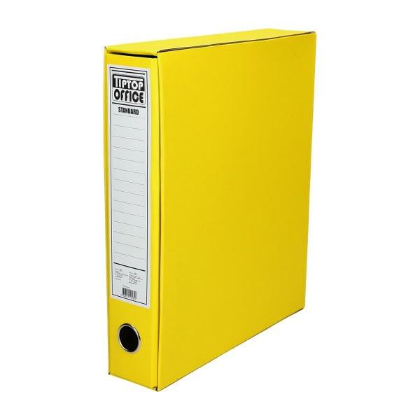 TTO Registrator uski sa kutijom ''Standard'' A4/55. Boja: žuta