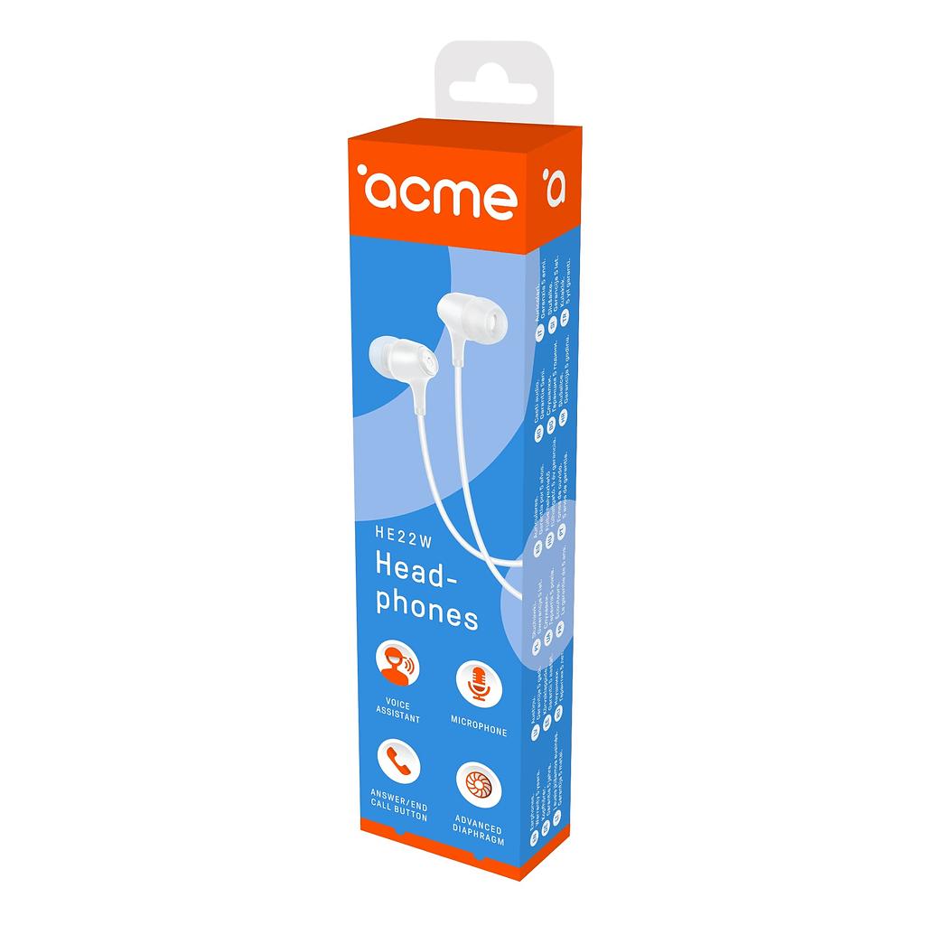 ACME Slušalice HE22W, bijela