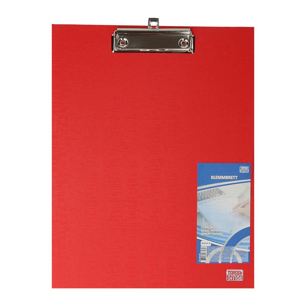 TTO Držač Papira ''Premium'' PP 24.8 x 31.8cm, Crvena