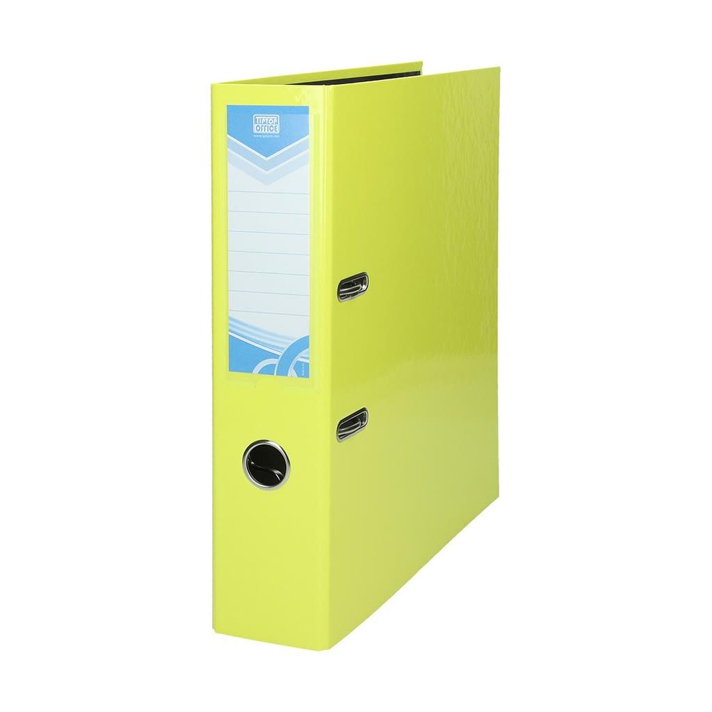 TTO Samostojeći registrator PREMIUM A4. Boja: neon žuta