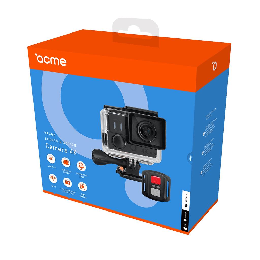 ACME Action kamera VR302, 4K
