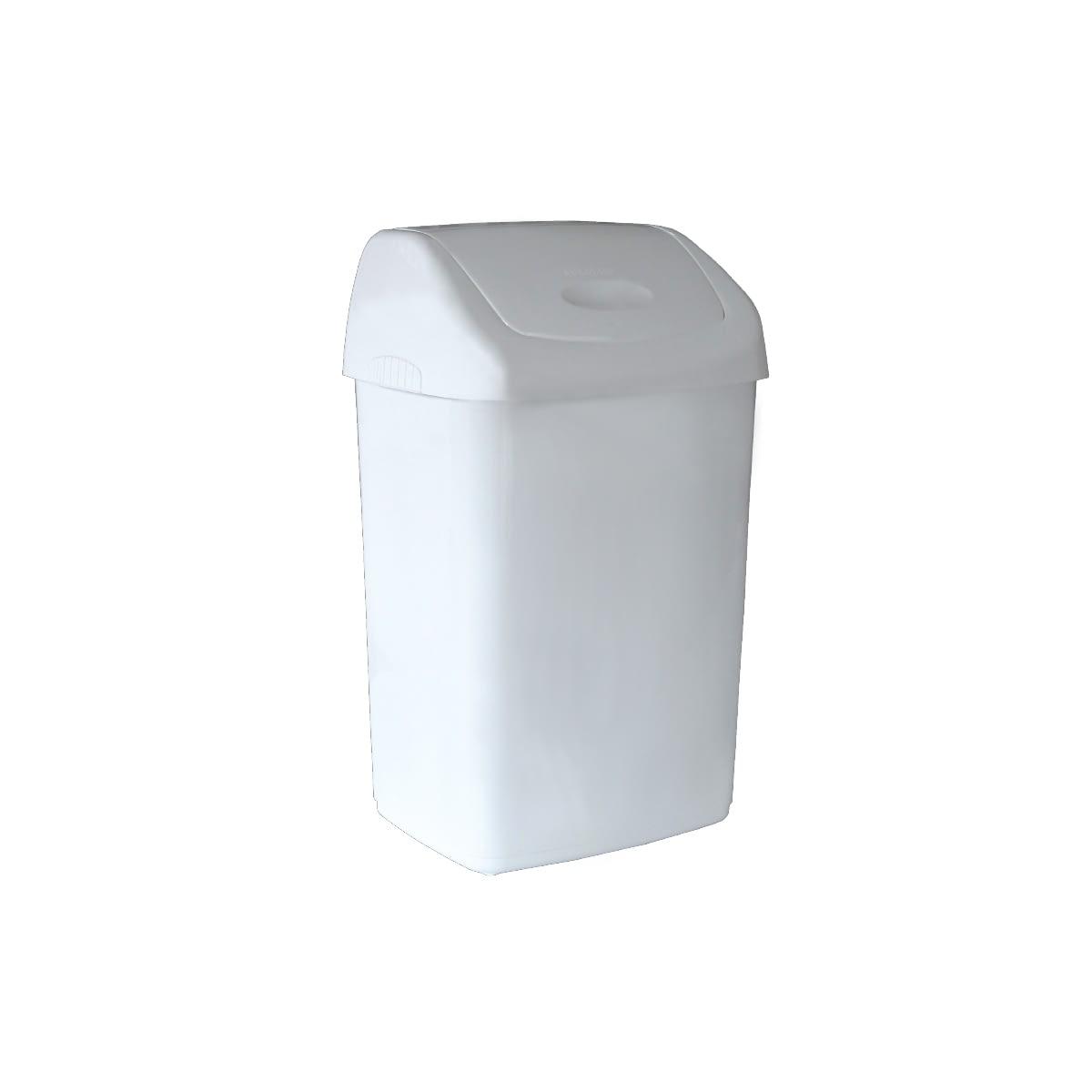 TTC Kanta za otpatke sa pokretnim poklopcem, bijela, 25L